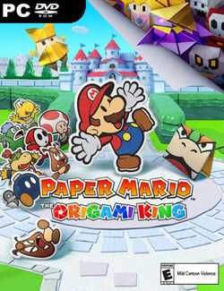 Paper Mario The Origami King-CODEX