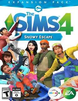 The Sims 4 Snowy Escape-CODEX